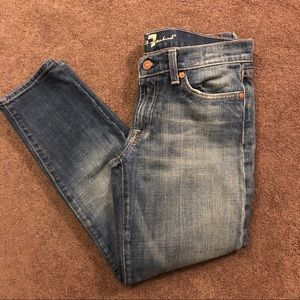 7 For All Mankind Jeans Crop Length